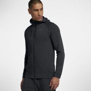 Nike Sweatà capuche de training entièrement zippé Dri-FIT pour Homme - Noir - Taille XL - Homme