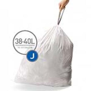 Simplehuman cw0238 - 100 sacs poubelles Code J (38 / 40 L)