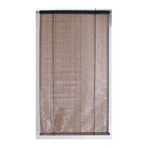 Pegane Voile d'ombrage anti-UV pour pergola verticale à enrouleur - Brun Havane 120 x 180 cm
