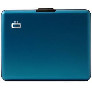 Ogon Portefeuille Big Stockholm Bleu Aluminium anodisé BS-Blue