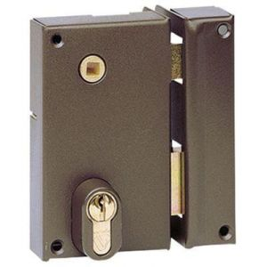 Vachette Coffre vertical pour cylindre profil européen ASSA ABLOY AUBE ANJOU (EX 7216 - MD