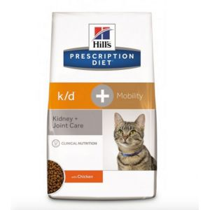 Hill's Prescription Diet k/d + Mobility feline - Sac de 2 kg