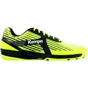 Kettler Chaussures Handball Kempa Wing Caution Homme Jaune Fluo/Gris/Noir