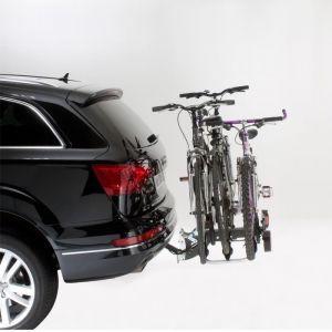 Mottez Porte-vélos d'attelage plate-forme Premium A018P3RA pour 3 vélos