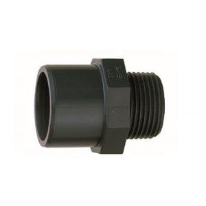"jardiboutique Embout Mixte Diamètre 32 ou 40 mm Filetage 1"" 1/4 a Visser PN 16 - raccord PVC"