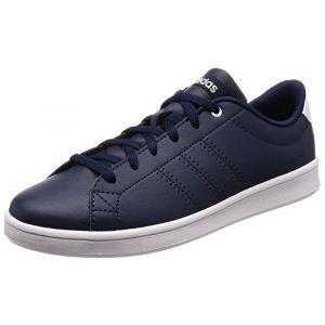 Adidas Advantage Clean QT, Chaussures de Fitness Femme, Bleu Maruni/Ftwbla 000, 39 1/3 EU