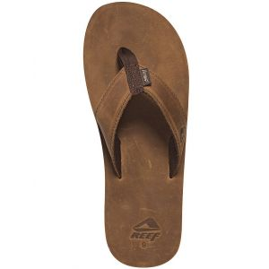 Reef Entertainment Reef R0232, Leather Smoothy, Tongs Homme, Marron (Bronze Brown), 37,5