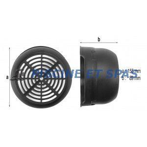 Procopi 979121 - Capot de ventilateur de surpresseur Euro Com 4