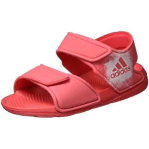 Adidas Altaswim C, Sandales de Sport Mixte Enfant, Rose (Rosbas/Ftwbla 000), 28 EU