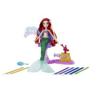 Hasbro Poupée Disney Princesses : Salon Ruban Royal d'Ariel