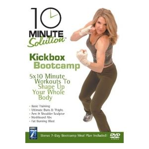 10 Minute Solution : Kickbox Bootcamp