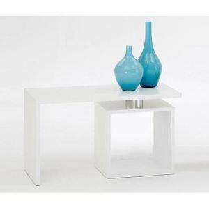 FMD Möbel Table basse Klara avec un compartiment ouvert