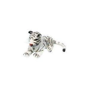 Peluche Tigre blanc 40 cm