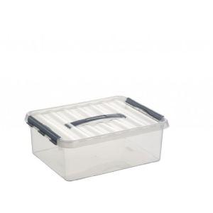 Boîte de rangement domestique en plastique (12 L)