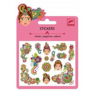 Djeco Minis stickers motifs Indien