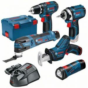 Bosch Kit 5 outils 12v li ion en L Boxx - 0615990GE8