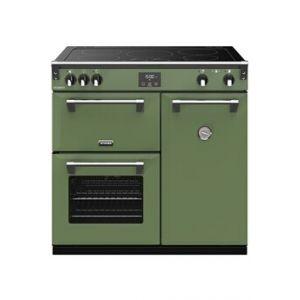 Stoves PRICHDX90EIVER - Richmond Deluxe 90 cm Induction Vert Soho - Piano de cuisson
