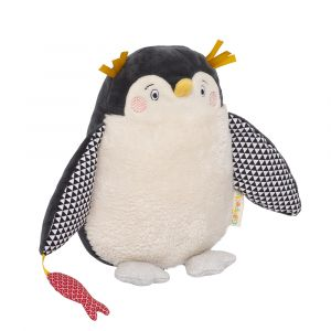 Galipette Peluche Papa Pingouin Les Nanouks (19,5 cm)