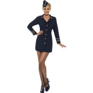 Smiffy's Costume hôtesse de l'air (taille 40-42)