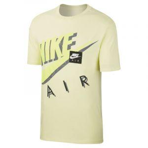 Nike Tee-shirt imprimé Sportswear pour Homme - Vert - Taille M - Male