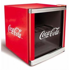 Husky HUS-HM 165 - Réfrigérateur cube Coca-Cola