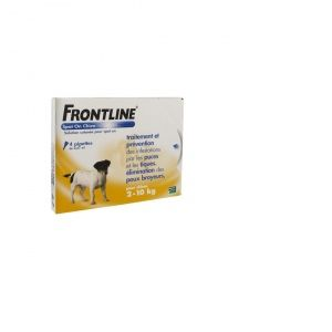 Frontline Spot On Chien S 2-10Kg 4 Pipettes