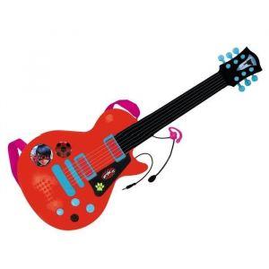 Reig Musicales Guitare électronique avec microphone Miraculous/Ladybug