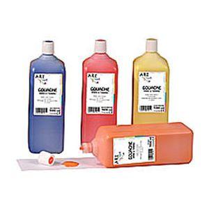 Artline Artplus gouache liquide 1 litre bleu colbalt prete à l emploi