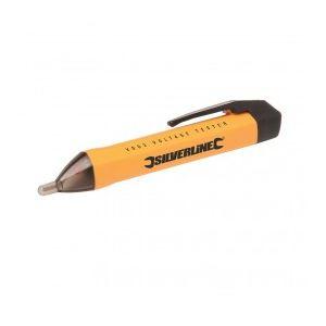 Silverline 675220 - Détecteur de tension alternative sans contact 140 mm