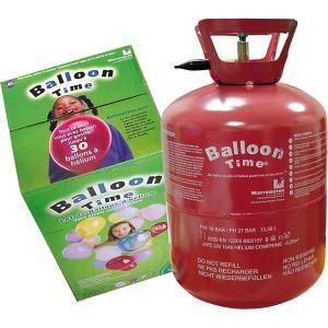 Bouteille d'hélium pour 30 ballons