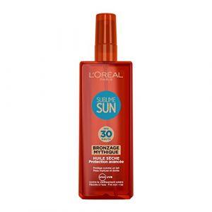L'Oréal Sublime Sun - Huile sèche Bronze Mythique FPS30