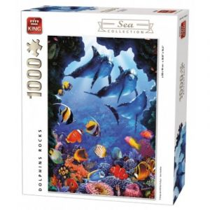 King International Dolphins Rocks International - Puzzle 1000 pièces