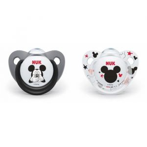Nuk 2 sucettes taille 2 Minnie Fille
