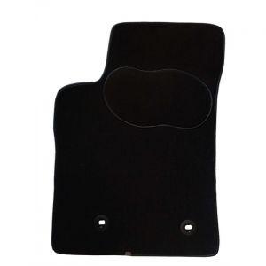 Norauto 1 tapis voiture sur mesure noir en moquette PREMIUM