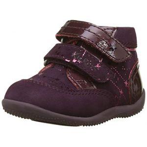 Kickers Boots enfant BILIANA violet - Taille 18