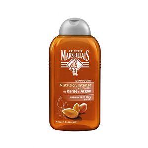 Le Petit Marseillais Nutrition Intense - Shampoing aux 2 huiles de Karité & Argan