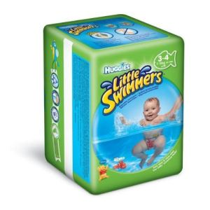 Huggies Little Swimmers taille 3/4 (7-15 kg) - 12 couches de bain