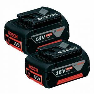 Bosch 1600Z00042 - Twin pack 2 batteries 18V 4,0Ah