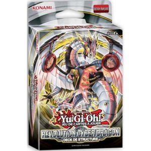 Konami Carte à collectionner Yu-Gi-Oh! : Deck de structure - Revolution Cyber Dragon