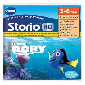 Vtech Jeu Storio HD : Le Monde de Dory