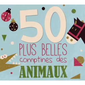 CD comptines : 50 plus belles comptines des animaux