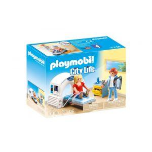 Playmobil City Life Figurine salle de radiologie 70196 multicolore