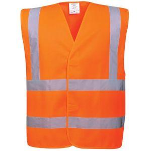 Portwest Gilet haute visibilité baudrier double ceinture Orange XXL/XXXL