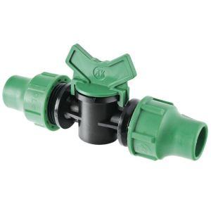 Aqua Flow D1670 - Vanne d'arrêt extra Ø 16 mm (6350126T)