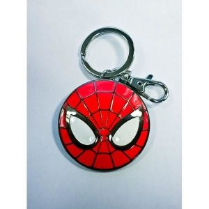 Semic Distribution Porte clé Porte Clés Spider-Man Logo Doré - Taille Unique