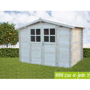 Abri de jardin en bois 28 mm 6 m2