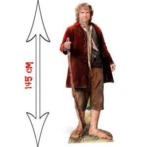 Figurine géante en carton Bilbon the Hobbit (145 cm)