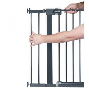 Safety 1st Extension pour barrières U-PRESSURE métal 14 CM métal Black