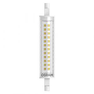Osram LED SLIM LINE R7S | Tube Crayon LED culot R7s, 11W = 100W équivalent incandescent | Blanc chaud | 2700K