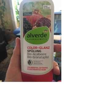 Alverde Glanz Spülung bio-zitrone Bio-aprikose - Après-shampoing brillance